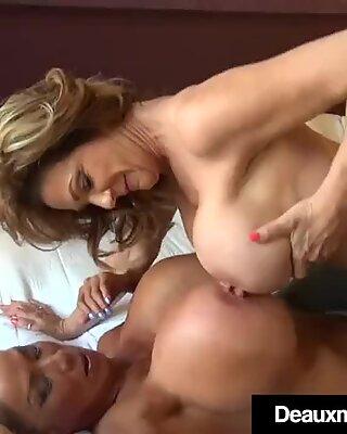 Busty Mature Cougars Deauxma & Minka Scissor Fuck & More!