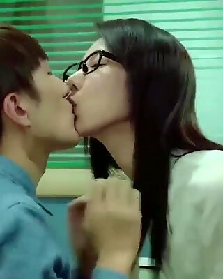 korean softcore collection pulverize handsome korean co-worker in the office