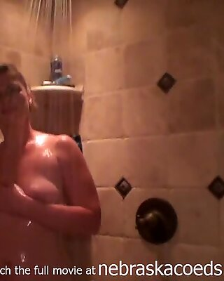 Amateur Iowa Wife Nervous But Letting Me Film Her Shower