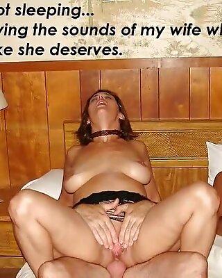 slutwife Pelzmausi -2-  shared wife cuckold slideshow