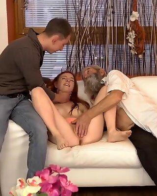 Unexpected practice with an older gentleman