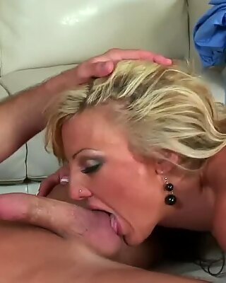 Val Malone is getting fucked in a doggy- style position