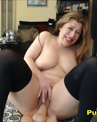 Parisian Big Tits Mom Exercising Her Big Ass