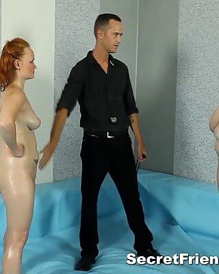 Fat Diana Gets Fucked After Naked Wrestling
