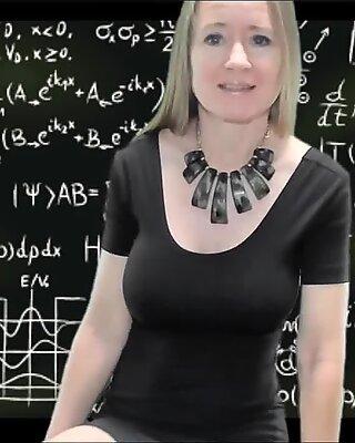 Naughty Teacher Breast Play JOI