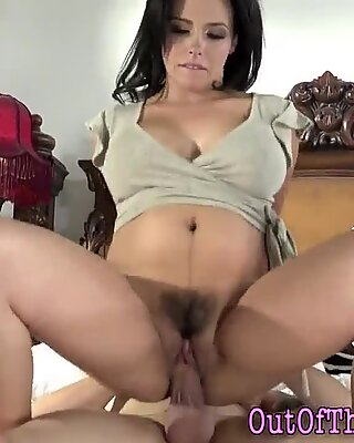 big-chested stepmom has buttsex