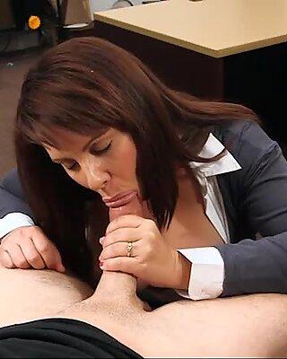 Big tits milf banged on pawnshops office desk by pawn man