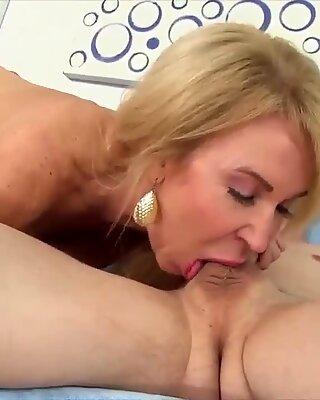 Golden Slut - Amazing Mummo Erica Lauren Kokoelma Osa 4
