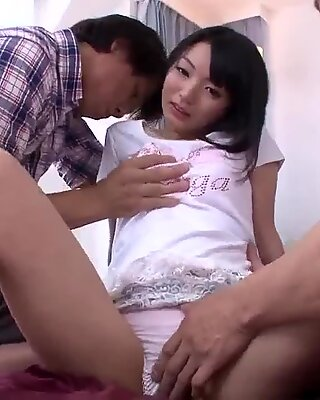 Konoha delights with heavy dick in her furry pussy