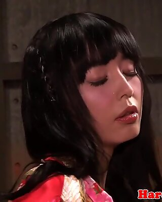 Really beautiful and sultry Japanese girl in porn scenes