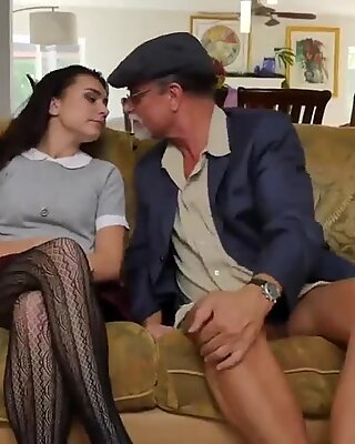 Old mom anal creampie Riding the Old Wood! - Michelle Martinez
