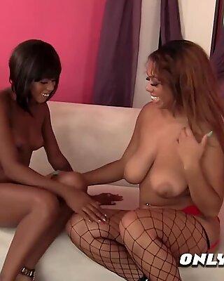 Black hot Afro american ebony enjoying 69 licking. New episodes of OnlySistas.com available now!