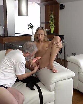 Old4k. Чай и жаркий секс - как Чика начинает день со своей старой муж