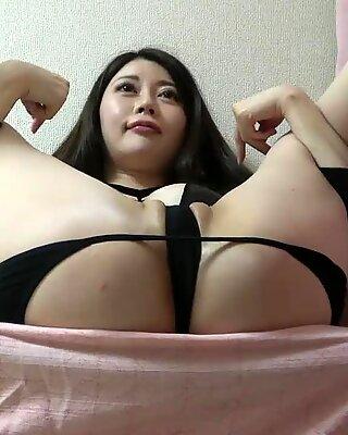 Hidden cam under the desk new gals Megumi Meguro in various forms