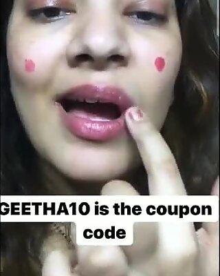 Geetha Madhuri sexy lanja expressions