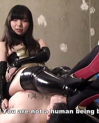 Japanese Femdom BDSM Facesitting