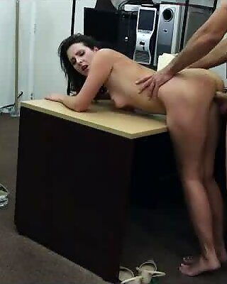 Любители Жена клиента получает Twat Truged