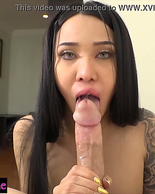 Attractive Asian ladyboy wanted anal sex with tourist