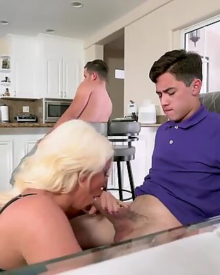 Milf helps and best associates mom catches Step Mom s New Fuck Toy - Alura Jenson