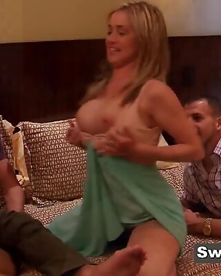 Matt and Mandy meet with other mature couples before swingers party