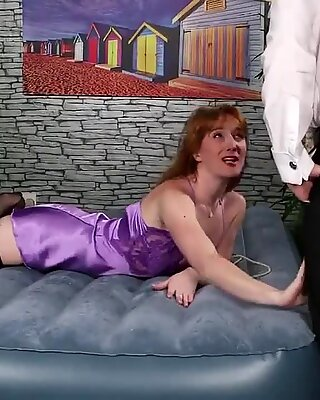 Nasty honey gets jizz shot on her face sucking all the jizm