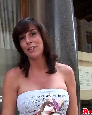 Mature dutch whore blasted with warm jizz