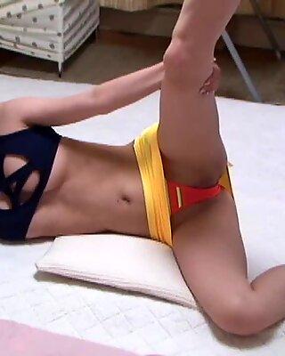 Japanese Voyeur Room Spy Crotch Wide Open Cameltoe