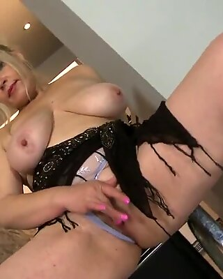 Sexy big breasted mother needs a good fuck