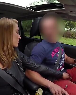 HUNT4K. Cash motivated guy to let his hot GF have fun...