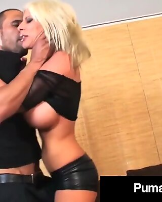 Sweden'_s #1 PornStar Puma Swede Gets Pounded By A Hard Cock!