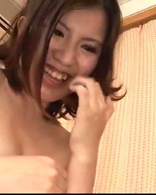 Strong threesome fuck with curvy ass Momoka Amai
