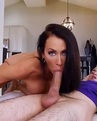 Amateur fat women and webcam babe library Hot MILF For His Birthday - Reagan Foxx
