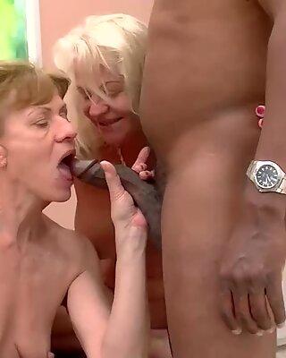 Interraciale Anal Mamie Orgie