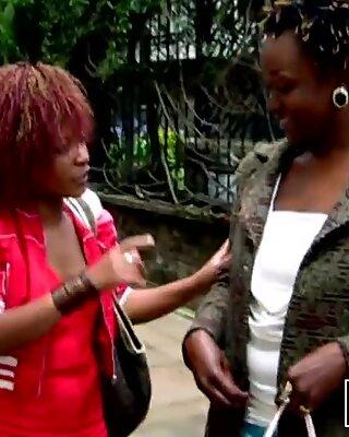 Hidden Cam Shows Lesbian Sex In African Shower