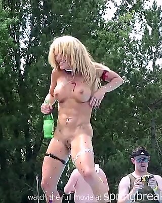 Blonde And Naked