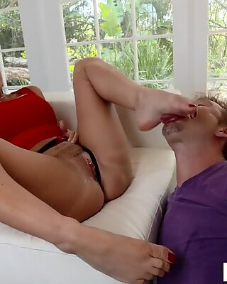 LoveHerFeet - Foot Worshiping My Friend's Lusty British Wife