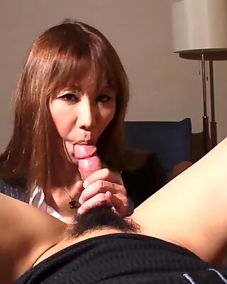 Cocksucking asian tgirl gets her assbanged