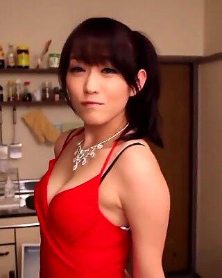 Shou Nishino soap superba donna collant culo frusta ru nume