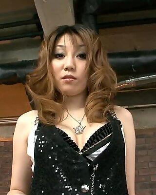 Kiimainen Aasialainen Slut Fondled